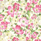 Moda - Sakura Park - 7178 - Pink Cherry Blossom on Cream - 33480-11 - Cotton Fabric